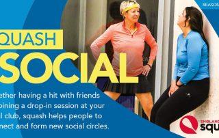 Squash is Social