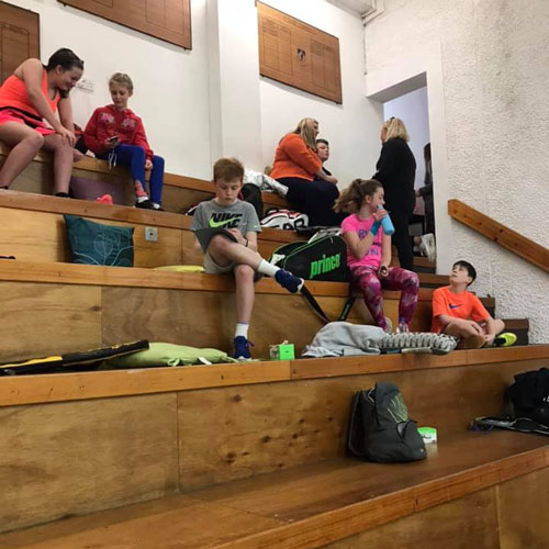 Tiered Seating Forthill Squash Club