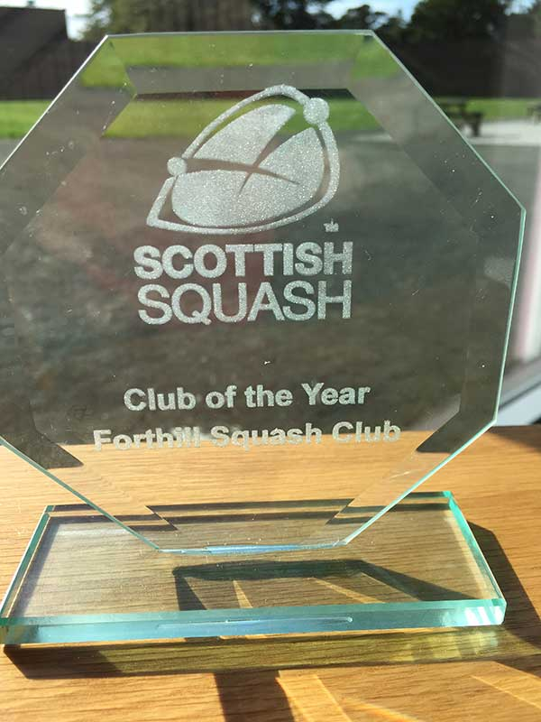 Squash Club of the Year 2019